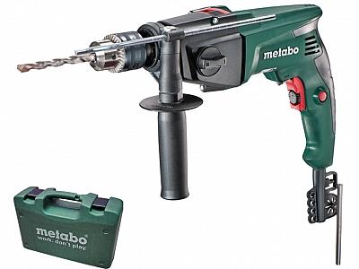 METABO SBE 760 wiertarka udar klucz 2 biegi walizka
