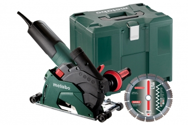 METABO W 12-125 HD SET CED PLUS szlifierka kątowa