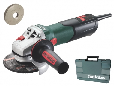 METABO W 9-125 QUICK szlifierka kątowa 125mm walizka