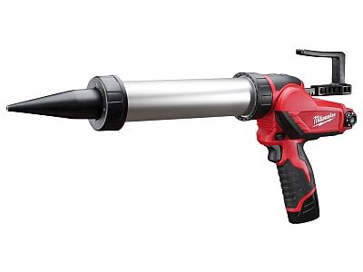 MILWAUKEE M12 PCG 600A 201B pistolet do silikonu 12V