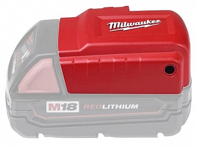 MILWAUKEE M18 ładowarka USB pod akumulator 18V