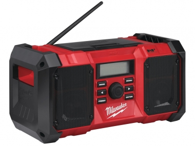 MILWAUKEE M18JSRDAB+ radio 18V 230V