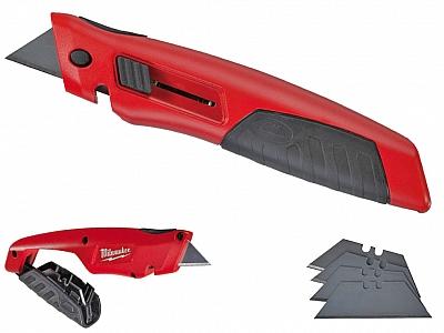 MILWAUKEE nóż nożyk gumowy chwyt 48221910