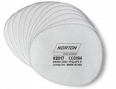 NORTON filtr wymienny do maski przeciwpyłowej x12 zestaw
