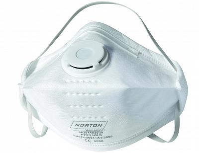 NORTON maska przeciwpyłowa FFP2 z zaworem