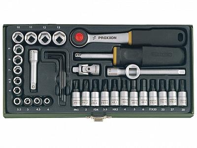 PROXXON 23080 zestaw kluczy 36 elem. klucz klucze