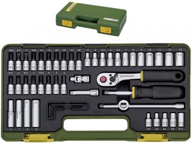PROXXON 23280 klucze grzechotka nasadki x50 zestaw