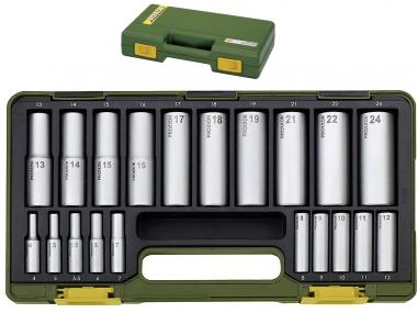 PROXXON 23292 klucze nasadowe nasadki 4-24mm 20el.