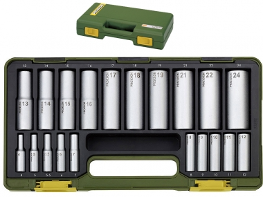 PROXXON 23292 klucze nasadowe nasadki 4-24mm x20