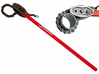 ROTHENBERGER klucz łańcuchowy do rur 4'' 70244