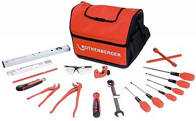 ROTHENBERGER klucz obcinak poziomica wkrętak torba