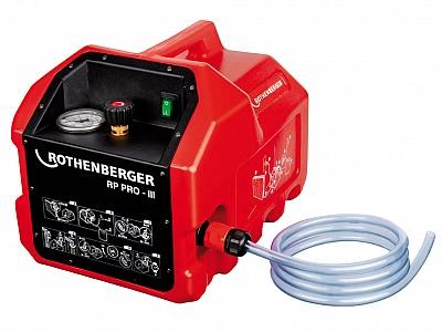 ROTHENBERGER RP PRO III pompa kontrolna testowa