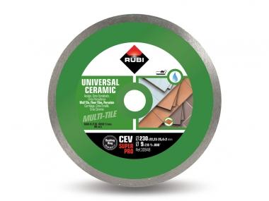 RUBI CEV 230 PRO tarcza diamentowa do płytek 230mm
