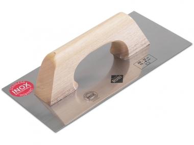 RUBI 65960 paca prostokątna INOX uchwyt drewno 30x15cm