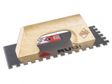 RUBI paca zębata stal uchwyt zamknięty drewno 28x14cm