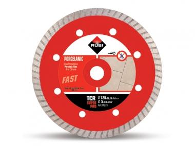 RUBI TCR 125 tarcza diamentowa gres 125mm