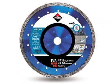 RUBI TVA 115 PRO tarcza diamentowa do gresu 115mm