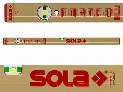 SOLA AZ40  poziomica profesjonalna 40cm