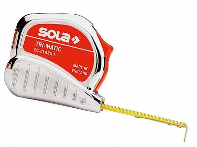 SOLA TRI-MATIC miara zwijana taśma 8m