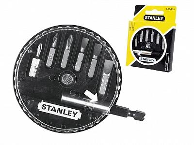"STANLEY 68-735 6x bity 1/4 + uchwyt """