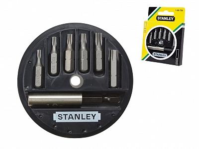 "STANLEY 68-739 6x bity 1/4 + uchwyt """