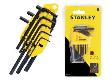 STANLEY 69-251 zestaw klucze imbusowe x8