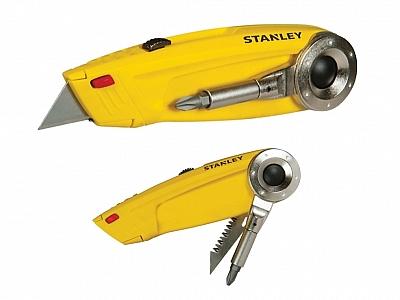 STANLEY 71-699 4w1 nóż piłka wkrętak bity