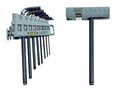 STANLEY 89-904 zestaw klucze imbusowe x9