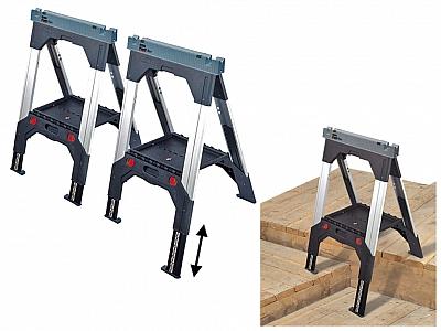 STANLEY 92-980 kobyłka stojak warsztatowy 2sztuki -  komplet