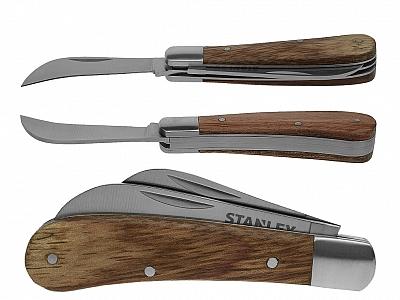 STANLEY nóż scyzoryk z podwójnym ostrzem