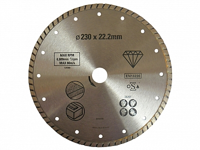 STANLEY tarcza diamentowa do betonu 230mm