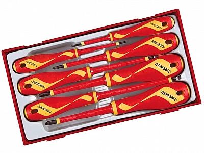 TENGTOOLS PAK TTV907N zestaw wkrętaki x7
