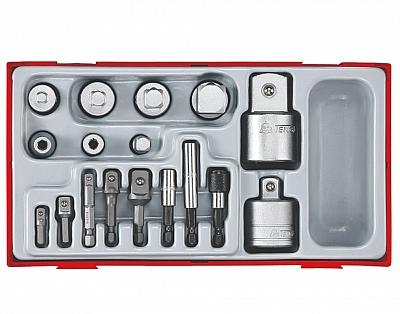 TENGTOOLS 18580-0109  PAK zestaw adapter łącznik 17 sztuk