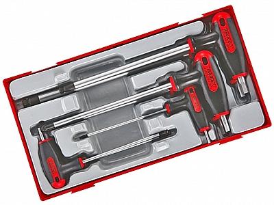 TENGTOOLS TTHEX7 zestaw klucze trzpieniowe 7 sztuk