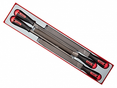 TENGTOOLS zestaw pilnik 10'' 5szt. TTXF05