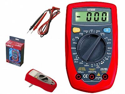 UNI-T UT33D miernik uniwersalny multimetr
