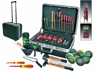 HAUPA 220307 walizka z narzędziami na kółkach 1000V