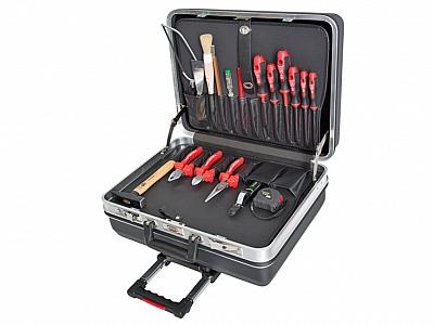 HAUPA 220137 walizka narzędziowa z wyposażeniem 19 elementów