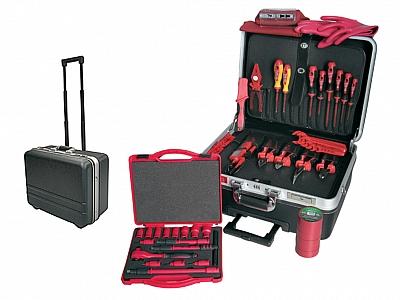 HAUPA 220272 walizka narzędziowa z wyposażeniem 57 elementów