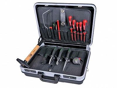 HAUPA zestwa narzędzi elekt walizka 14szt