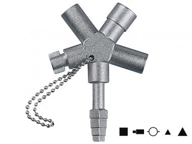 HAUPA 110691 klucz do szafki rozdzielczej