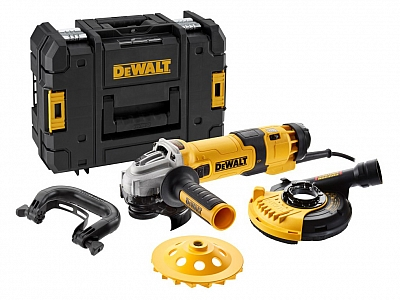 DeWALT DWE4257KT szlifierka do betonu 125mm 1500W