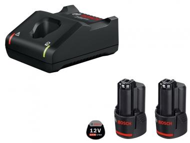 BOSCH GAL12V-40 ładowarka 12V akumulator 3,0Ah x2