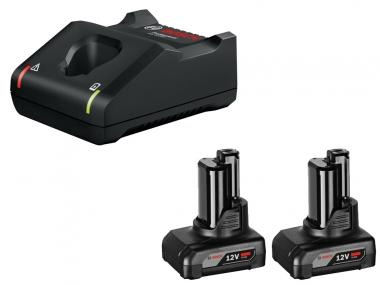 BOSCH GAL12V-40 ładowarka 12V akumulator 6,0Ah x2
