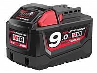 MILWAUKEE akumulator M18B9 18V 9,0Ah Li-Ion