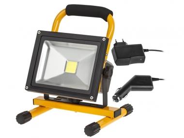 KEMOT URZ3357 lampa reflektor LED 230/12V akumulatorowa