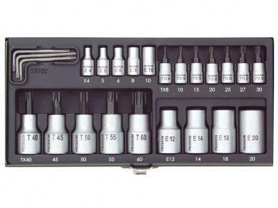 PROXXON 23102 zestaw klucze TORX 23 sztuki