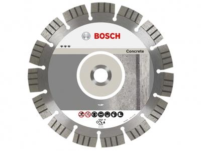 BOSCH tarcza diamentowa beton BEST 125mm