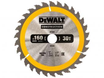 DeWALT DT1932 piła tarczowa do drewna 160mm/30z/20mm