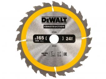 DeWALT DT1934 piła tarczowa do drewna 165mm/24z/20mm